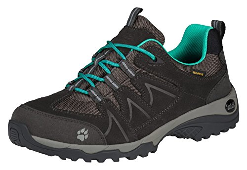 Jack Wolfskin Damen Multifunktions Trekking-Schuh TRACTION Texapore W deep mint depp mint