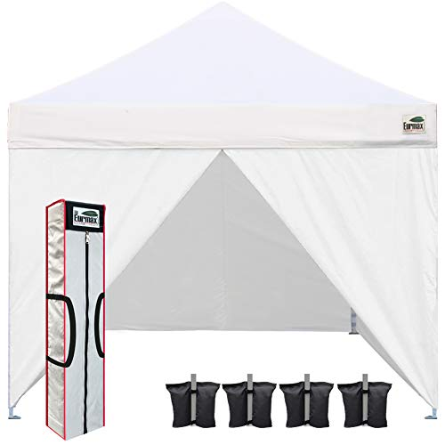 Eurmax 10 X 10 Commercial Instant Gazebo Ez Pop up Canopy wi