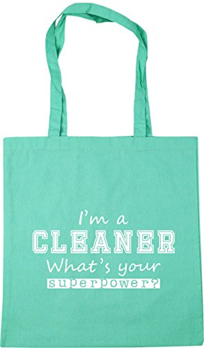Shopping What's Bag HippoWarehouse 10 Beach Your a Tote Cleaner Gym I'm x38cm 42cm Superpower litres Mint wqUW1q0t