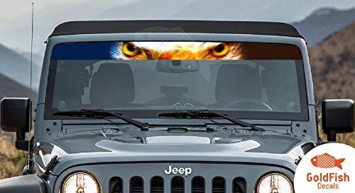ecal sticker compantible with jeep wrangler, jk , tj RUBICON No12 ()