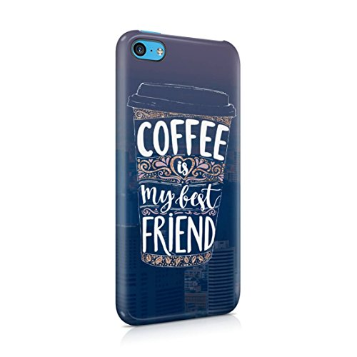 Coffee Is My Best Friend Hard Plastic Phone Case For iPhone 5c