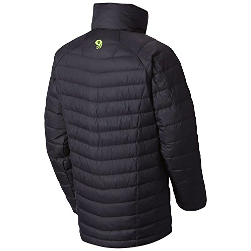 Mountain Hardwear Boys Micro Ratio Down Jacket, Black, Medium