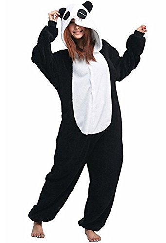 (Cousinpjs Adult Cosplay Costume Animal Sleepwear Halloween Pajamas (Medium, Red Eye)