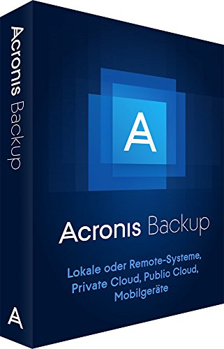ACRONIS Backup 12 Virtual Host (DE) Box