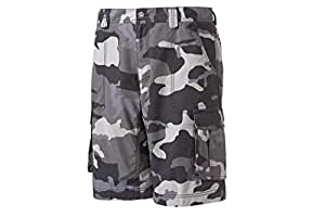 The North Face Mens Printed Tribe Cargo Shorts TNF Black Camo 32 CWZ5XC3