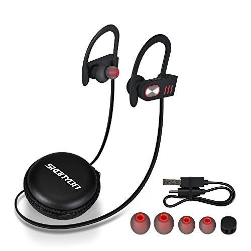 bluetooth headphones wireless headphones earbuds waterproof premium sound w. Black Bedroom Furniture Sets. Home Design Ideas