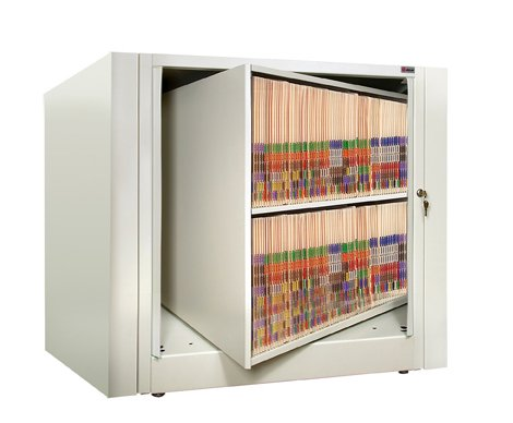 - 2-Tier Rotary Cabinet (Letter Size, Starter)