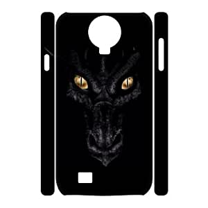 T-TGL(RQ) Samsung Galaxy S4 I9500 3D New-Printed Phone Case Dragon with Hard Shell Protection