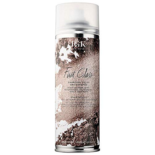 IGK FIRST CLASS CHARCOAL DETOX DRY SHAMPOO - 6.3oz