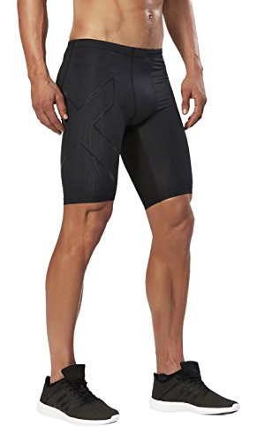 2XU Men's Elite MCS Compression Shorts, Black/Nero, Medium