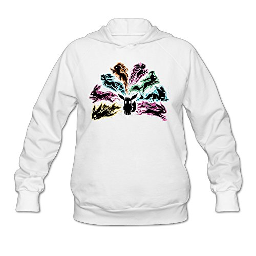 Wesley Pink Floyd Flareon Wen's Fashion Hoodie White XXL