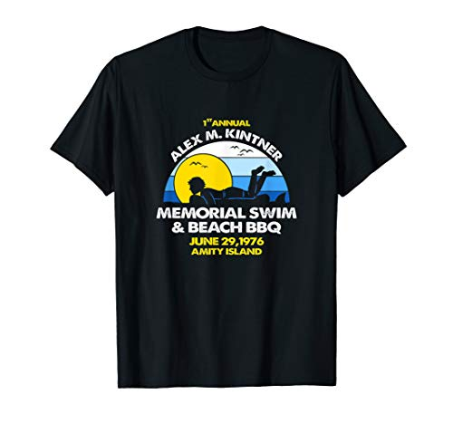 1st annual alex m. kintner memorial swim & beach bbq Shirt