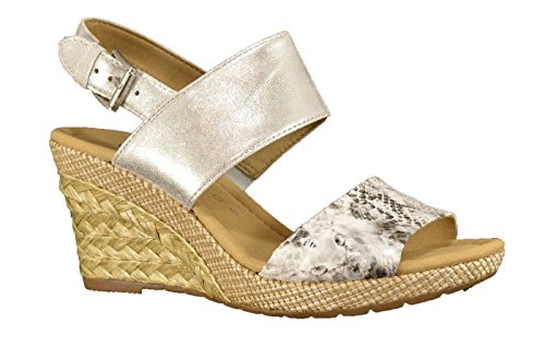 Gabor 42.825.10 - Sandalias de vestir para mujer Blanco - blanco