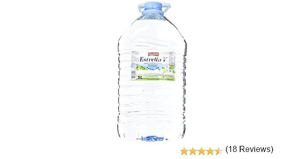 Gourmet Estrella V Agua Mineral Natural - 8 l: Amazon.es: Alimentación y bebidas