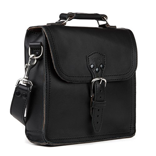 Saddleback Leather Indiana Satchel-100% Full Grain Leather Satchel Bag - 100 Year Warranty by Saddleback Leather Co.