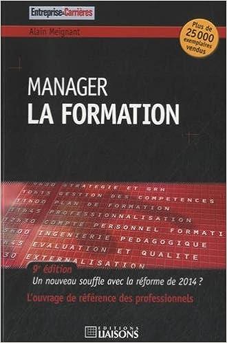 Télécharger en ligne Manager la formation : Un nouveau souffle avec la réforme de 2014 ? pdf, epub ebook