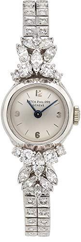 Patek Philippe Vintage Mechanical-Hand-Wind Female Watch 3215/1 (Certified Pre-Owned)