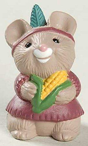 Hallmark Merry Miniature Indian Maiden 1991 Thanksgiving