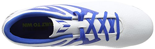 adidas Messi 15.4 FxG - Botas para hombre Blanco / Azul / Negro