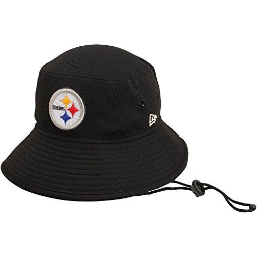 New Era 100% Authentic, NWT, Pittsburgh Steelers Bucket Hat Black