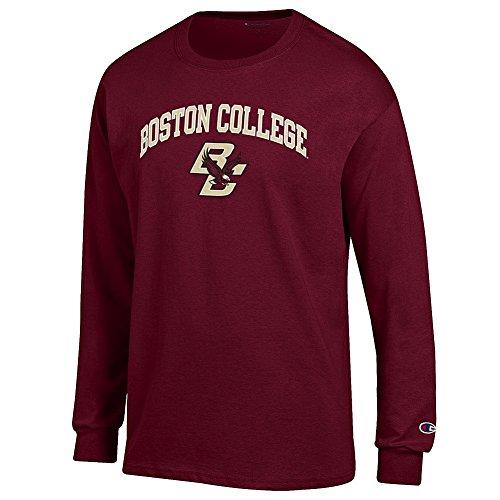 Boston College Shirt - Elite Fan Shop Boston College Eagles Long Sleeve Tshirt Varsity Maroon - XL