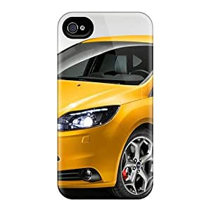 Waterdrop Snap-on Yellow Ford Focus St And Pictures Case For Iphone 4/4s