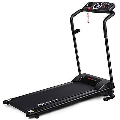 Goplus Electric Folding Treadmill Walking Jogging Running Machine Low Noise Space Saving with Display
