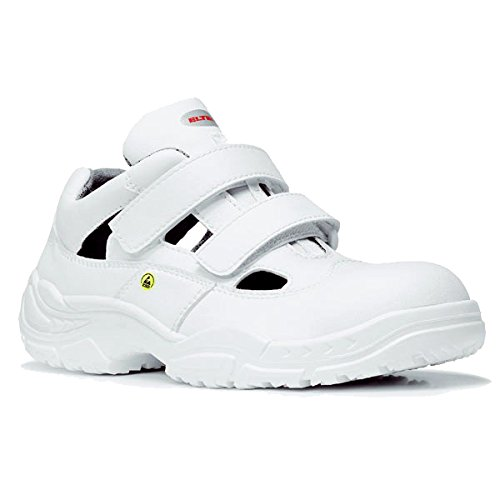 Elten 72015-43 White Easy Low Chaussures de sécurité ESD S1 Taille 43