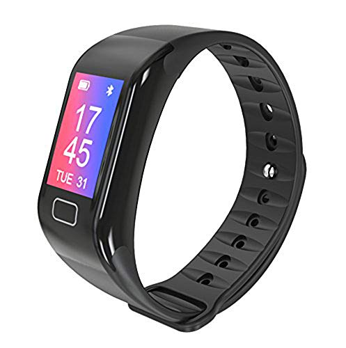Monitor Heart Pro Rate Watch (ETCBUYS Fitness Tracker & Exercise Watch - Smart Band Features and Monitors Heart Rate, Blood Pressure, Blood Oxygen, Sleeping Patterns Pedometer, Sedentary, Hydration Reminder and More, H10S-PRO)