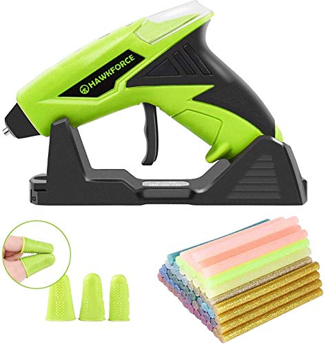 Hawkforce cordless glue gun