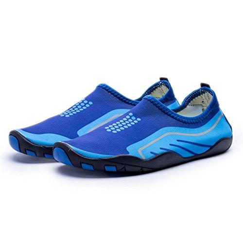 AVADAR Water Shoes,Men Women Water Shoes Barefoot Quick Dry Aqua Shoes Deep Blue2