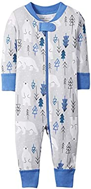 Moon and Back by Hanna Andersson Kids' Organic Holiday Family Matching 1 Piece Footless Paj