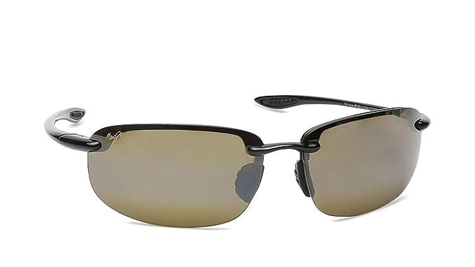 44d3980810 Maui Jim 407-02 Black Hookipa Rimless Sunglasses Polarised  Maui Jim   Amazon.co.uk  Clothing