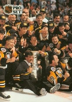 1991 Pittsburgh Penguins Stanley Cup Champions (Pittsburgh Penguins) 1991 Pro Set - Stanley 1991 Cup