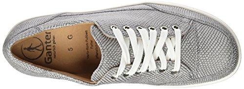 Ganter Giulietta, Weite G - Zapatos Derby Mujer Gris