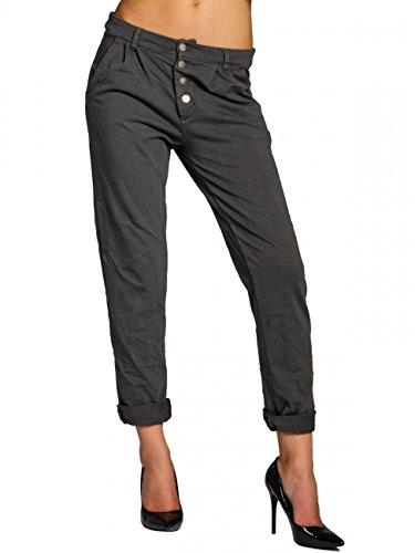 CASPAR Fashion - Pantalón - para mujer gris oscuro