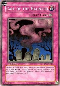Haunted Deck - Yu-Gi-Oh! - Call of the Haunted (SD1-EN021) - Structure Deck 1: Dragon's Roar - 1st Edition - Common