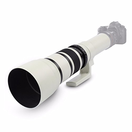 Jili Online 500mm f/6.3 Telephoto Mirror Fixed Lens for Canon 450D 550D 650D 750D 760D by Jili Online (Image #5)
