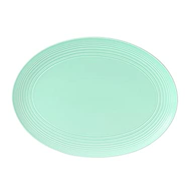 Royal Doulton Maze Oval Platter, 17 , Blue