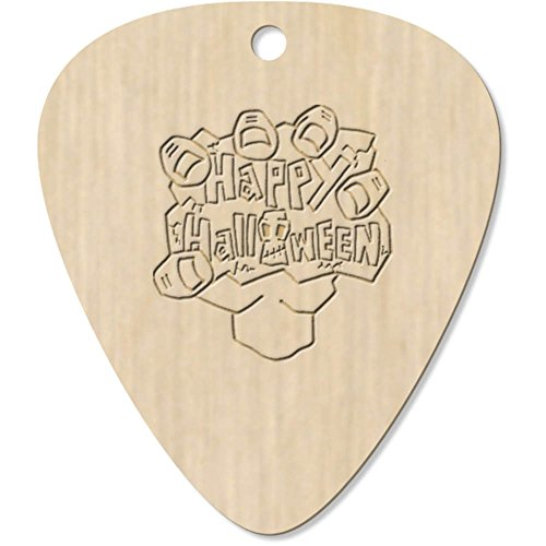 Azeeda 7 x 'Happy Halloween Motif' Guitar Picks / Pendants (GP00001126)]()
