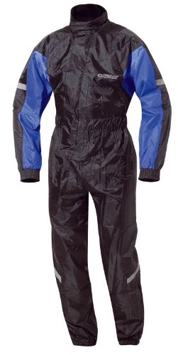 HELD(ヘルド): バイク用レインウェアー「SPLASH」 ブラック/ブルー B00590ZUJM