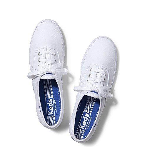 Women's Keds 'Champion' Canvas Sneaker White Size 12 W