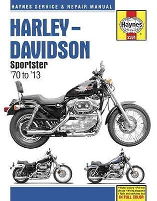 Haynes Manuals N/Amanual H/D Sportsters M2534 New