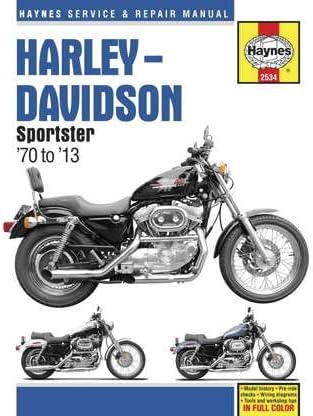 Software Haynes Manuals Manual H/D Sportsters M2534 New Tools ...