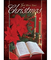 God Bless Your Christmas - Boxed Greeting Cards - Christmas - KJV Scripture
