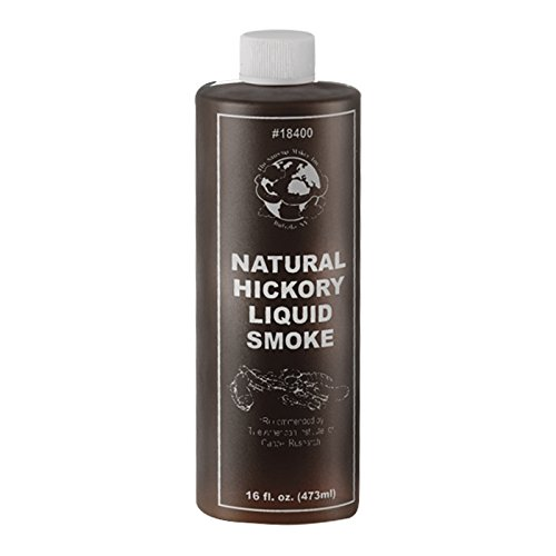 (TSM All Natural Concentrated Liquid Hickory Smoke, Sixteen Ounces)