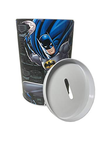 Batman Coin Bank, Novelty Item, Coin Collecting for Kids, Batman Black Coin Bank Coin Collectors Or Kids