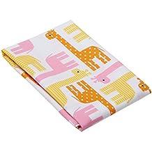 "Little Sleepy Head Toddler Pillowcase - Pink Giraffes, White, 13"" X 18"""