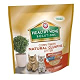 Arm & Hammer 718002 3/10# Healthy Home Solutions Corn Natural Clumping Litter