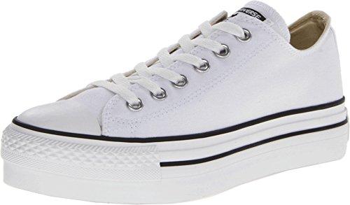 Converse Womens Chuck Taylor Platform White Canvas Trainers 9 US (Sneakers Platform Chuck Taylor)